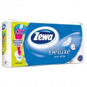 Zewa Deluxe Туалетная бумага Белая, 3 слоя, 8 рулонов 7322540313345
