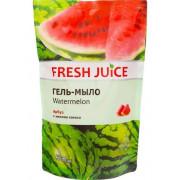 Fresh Juice Жидкое гель-мыло с экстрактом арбуза и кокосовым маслом дой-пак 460мл