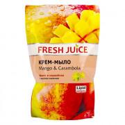 Fresh Juice Крем-мыло с маслом камелии Манго и карамбола 460мл