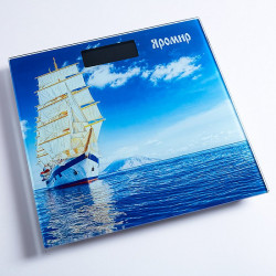 Весы напольные электронные Яромир Корабль ЯР 4203