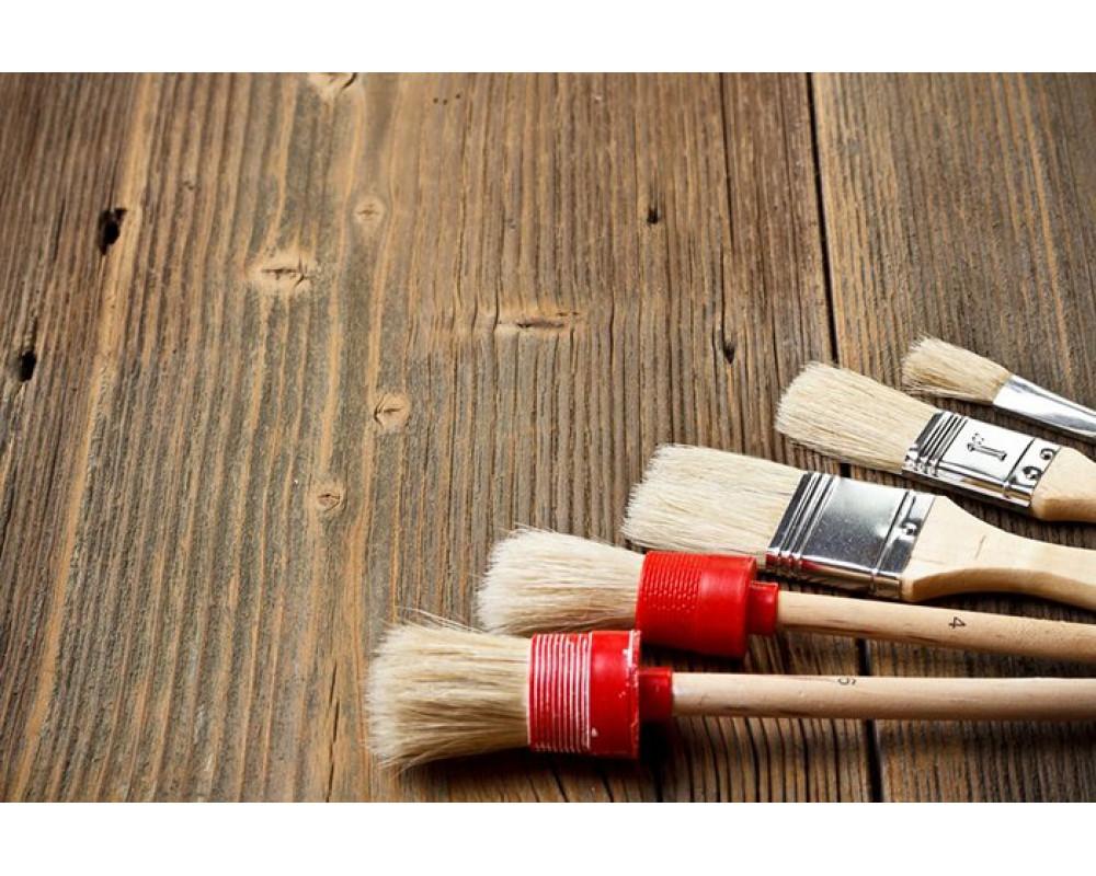 Кисточки для краски и малярных работ: их виды и размеры