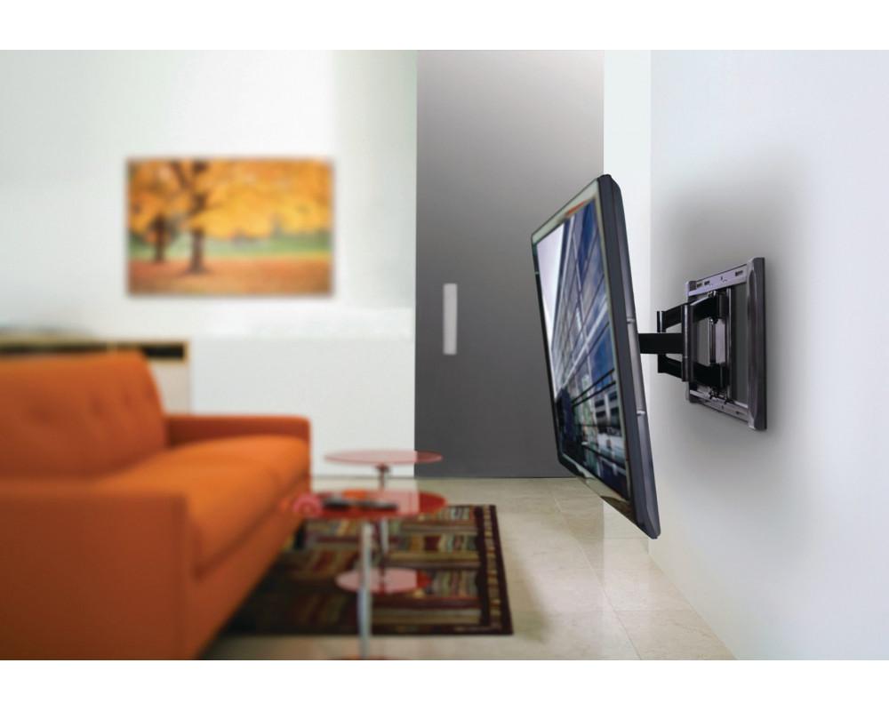 Крепление на стену для телевизора: на какой высоте и где размещать
