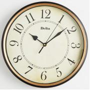 DELTA Часы настенные 31 см DT9-0004