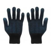 Перчатки хб 4нити 10 класс  черные люкс точка3к 45695