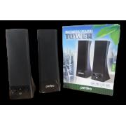 PERFEO Колонки 2.0 PF-532 «Tower» USB (PF_4325)