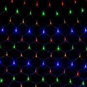 Гирлянда СЕТКА 160 led цветная (1,5м*1,5м)