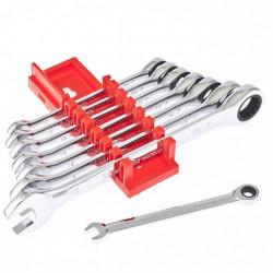 Matrix Набор ключей комбинированных, трещеточных 8 шт 14513