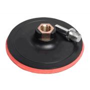 STRONG Опорная тарелка для УШМ 125 мм на липучке СТУ-20201125