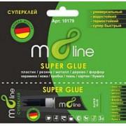 Клей-гель m8line 3г на блистере 12857