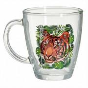 ДЕКОСТЕК Кружка для чая 350мл. (Тигр на охоте) 2025-Д