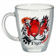ДЕКОСТЕК Кружка для чая 350мл.  (Зов тигра) 2025-Д