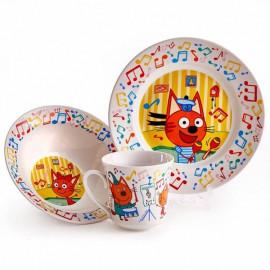 Детские наборы посуды (стекло, керамика)