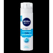"""NIVEA Пена для бритья 200 мл. """"Охлаждающая"""" для чувствительной кожи 4005900163998"""