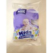 """NOVAX Детская банная губка """"Kids Fantasy"""" 4823058323916 фиолетовый"""