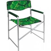 НИКА Кресло складное КС3/2 тропические листья