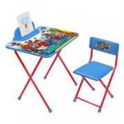 НИКА Комплект детской складной мебели «С супергероями от Marvel»  Д2М2