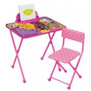 НИКА Комплект детской складной мебели Disney «Рапунцель. Новая история»  Д2Р