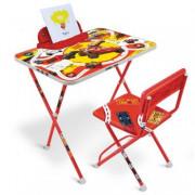НИКА Комплект детской складной мебели Disney «Тачки» Д2Т