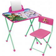 НИКА Комплект детской складной мебели Disney «Феи. Азбука» Д2Ф1