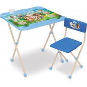 НИКА Комплект детской складной мебели «Нашидетки» КНД2/1 кто чей малыш