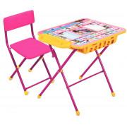 НИКА Комплект детской складной мебели «Маша и медведь» КУ2П