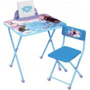 НИКА Комплект детской складной мебели DISNEY «Холодное Сердце» KF1