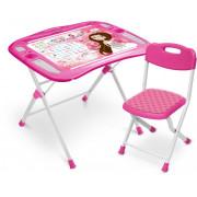 НИКА Комплект детской складной мебели NKP1/3 маленькая принцесса