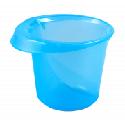 "АР-ПЛАСТ Чаша 1,5 л. "" Лайм"" 03059 голубой"