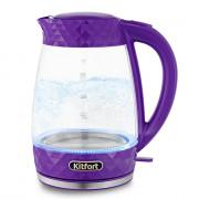 KITFORT Электрический чайник KT-6123-1 фиолетовый