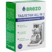 BREZO Таблетки ALL IN 1 для посудомоечной машины, 20 шт. 87466
