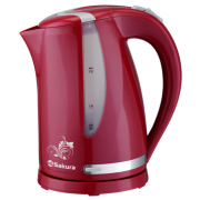 SAKURA Электрический чайник SA-2318RG красный