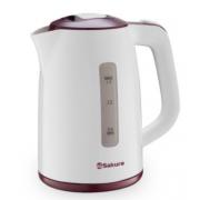 SAKURA Электрический чайник SA-2338R красный
