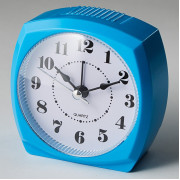DELTA Будильник 8,5x4,6х8,6см DT8-0006 голубой