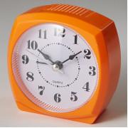 DELTA Будильник 8,5x4,6х8,6см DT8-0008 оранжевый