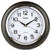 DELTA Часы настенные 29 см DELTA DT-0091 черные