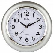 DELTA Часы настенные 29 см DT-0092 серебро