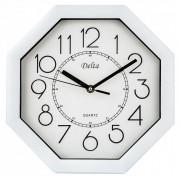 DELTA Часы настенные 27,5 см DT-0093 белые