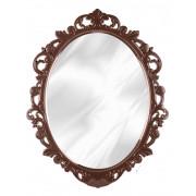 """РОССПЛАСТ Зеркало в рамке """"Ажур"""" М4520 темно-коричневый"""