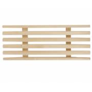 Решетка деревянная для ванной комнаты