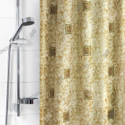 """VILINA Занавес для ванной комнаты 180 x 180 см """"Для бережливых"""" 1170BR"""