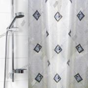 """VILINA Занавес для ванной комнаты 180 x 180 см """"Для бережливых"""" 1185BL"""