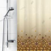 """VILINA Занавес для ванной комнаты 180 x 180 см 6666 """"Рифы"""" 1582-1"""