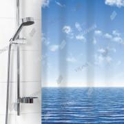 """VILINA Занавес для ванной комнаты 180 x 180 см 6666 """"Море 1585-1"""