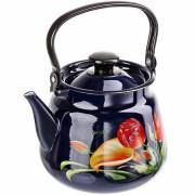 КМК Эмалированный чайник 3,5 л. 43504-132/6 бостон