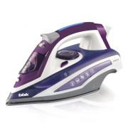 BBK Утюг 12400W ISE-2404 фиолетовый