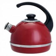 СД Чайник 3,5 л (консольная ручка) T04/35/01 бордовый (декор - нержавеющая сталь)