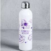"""КОМАНДОР Бутылка для воды 700 мл. """"Космическое настроение"""" 4570366"""