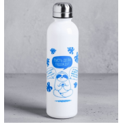 """КОМАНДОР Бутылка для воды 700 мл. """"Пусть дела подождут"""" 4570365"""