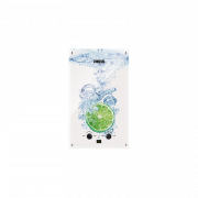 ZANUSSI Газовая колонка GWH 10 Fonte Glass Lime