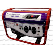 WBR Генератор бензиновый BG-3000